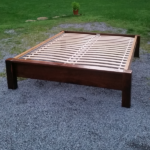 Upcycled Bed Frame w/Salvaged Wood