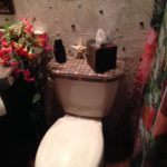 Mosaic Tile Toilet Lid from CJ