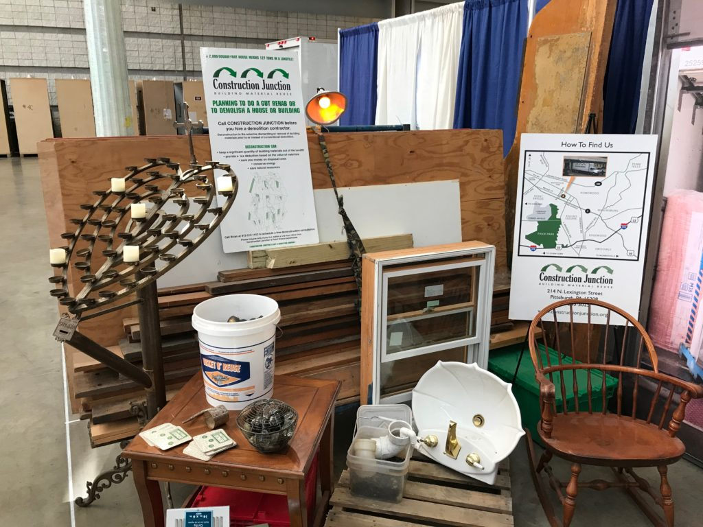Celebrating 22 Years At The Pittsburgh Home Garden Show Construction Junction