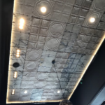 ASW Detroit Reclaimed Tin Ceiling