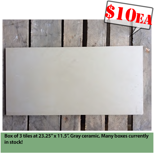 Boxes Of Ceramic Tile Construction Junction