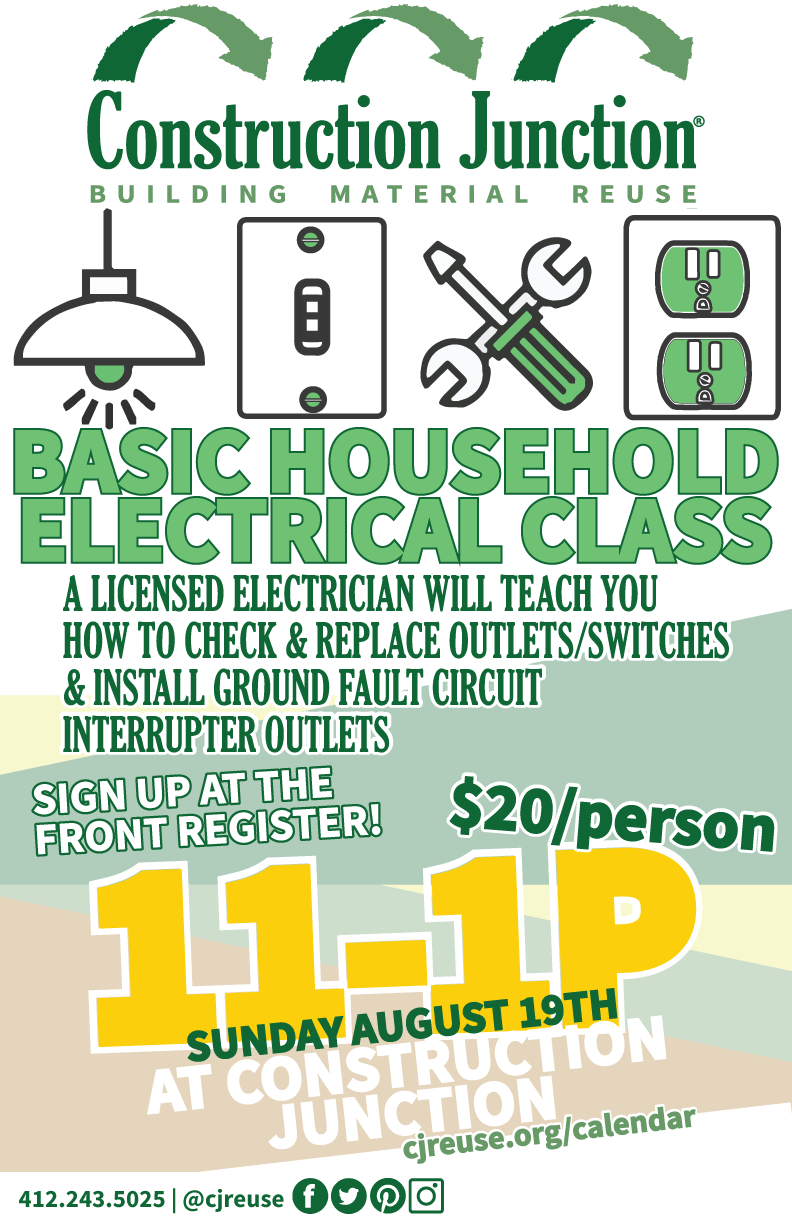 Basic Household Electrical Class Construction Junction Wiring Ground Fault Outlet Learn The Basics Of Testing And Replacing Switches Outlets In Your Home Including Installing Circuit Interrupters Gfci Which Are Now