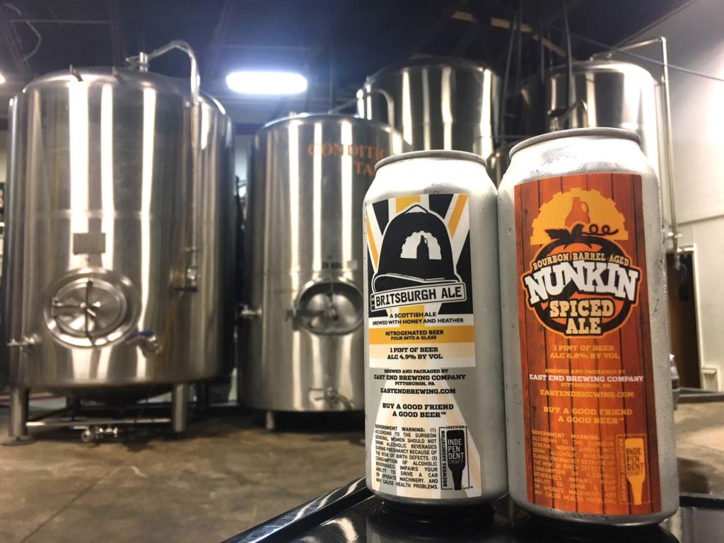 East End Brewing Double Can Release – Construction Junction