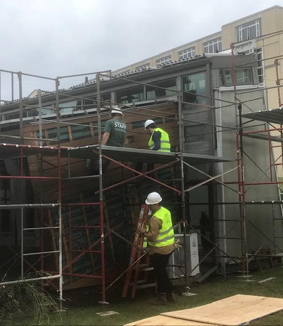 Deconstruction Begins On The CMU Solar House