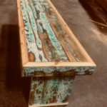 C.at.J Salvaged Wood Bench