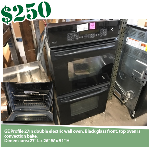 GE Profile Double Wall Oven w/Convection