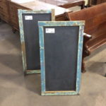 C.at.J Chalboard w/Salvaged Slate + Wood Fra