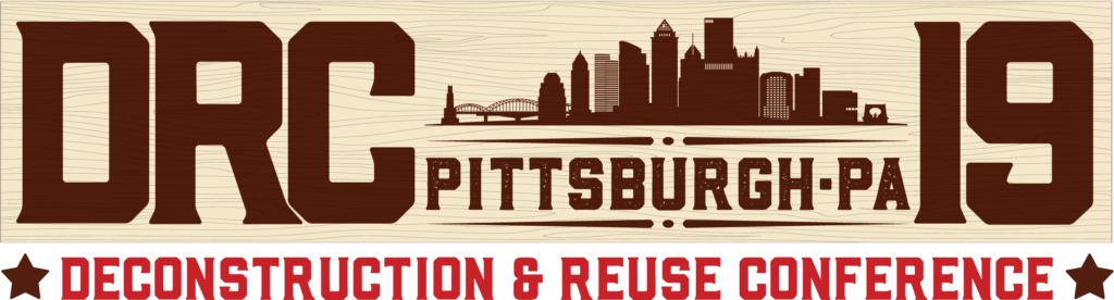 Deconstruction And Reuse Conference 2019 banner logo