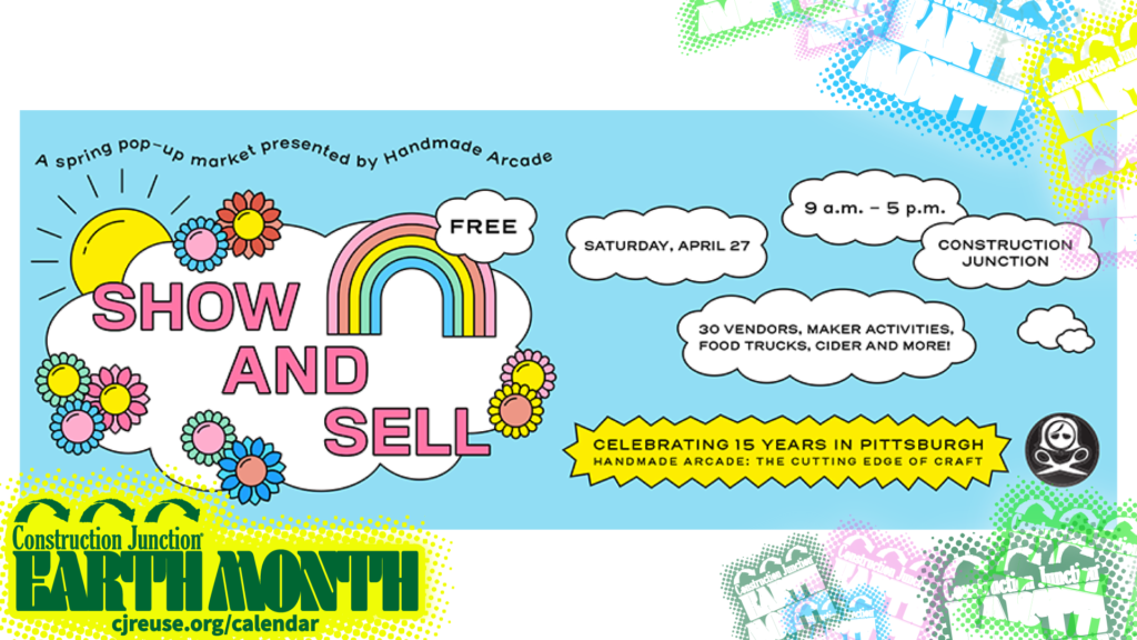 Handmade Arcade Show And Sell Earth Month