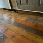 Salvaged 1860s Pine Flooring -Finished