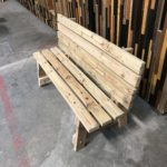 C.at.J Garden Bench Made w/Salvaged Lumber