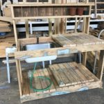 C.at.J Potting Table Made w/Salvaged Lumber