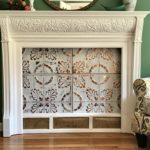 Salvaged Mantel