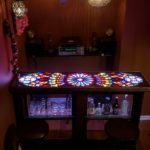 Custom Rose Window Bar