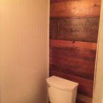 Repurposed Wood Wall