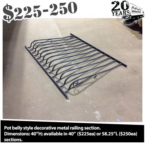 Decorative Metal Railing