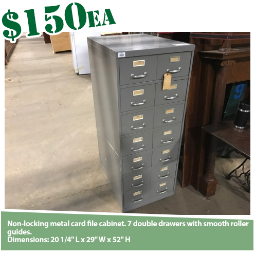 Card File Cabinet
