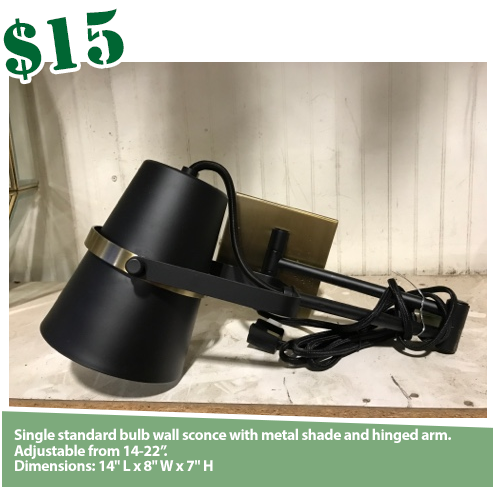 Interior Swing Arm Wall Sconce