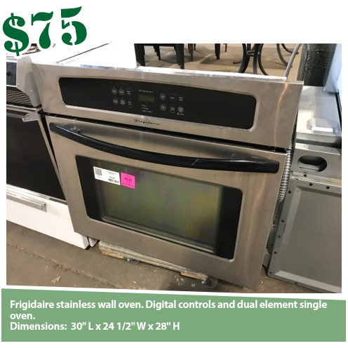 Frigidaire 30in Stainless Electric Wall Oven