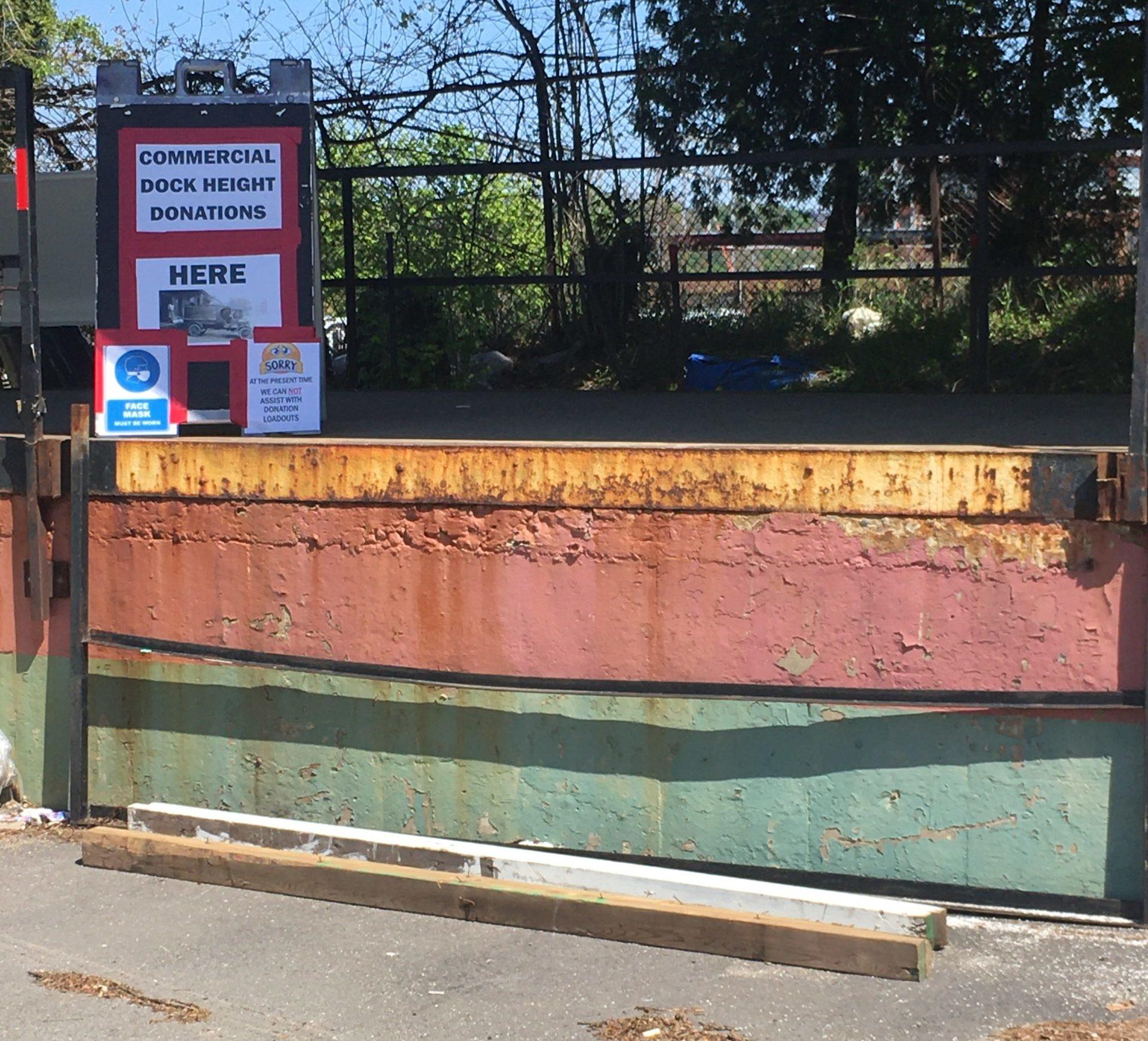 Jetty Dock Height Donation Area