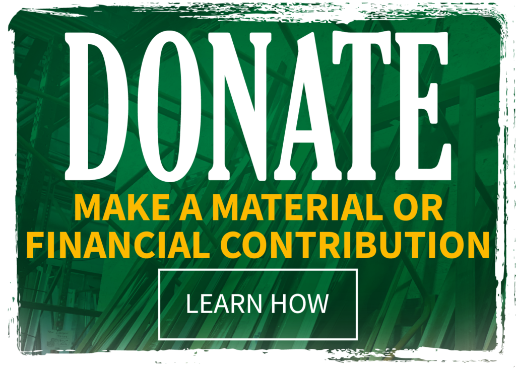 Click here for information regarding donating materials or making a financial contribution to Construction Junction.