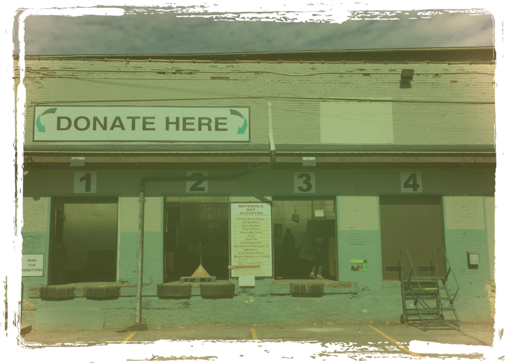 Easy Donation Drop Offs