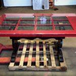 Table w/Repurposed Door