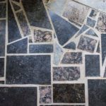 Repurposed Granite Flooring