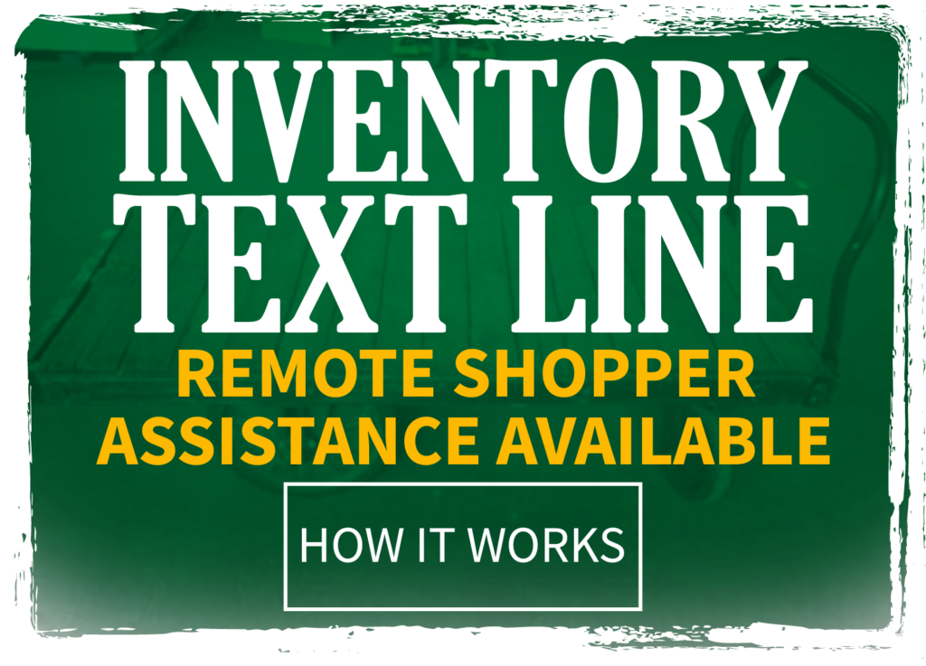 Click to find out about available remote shopper assistance.