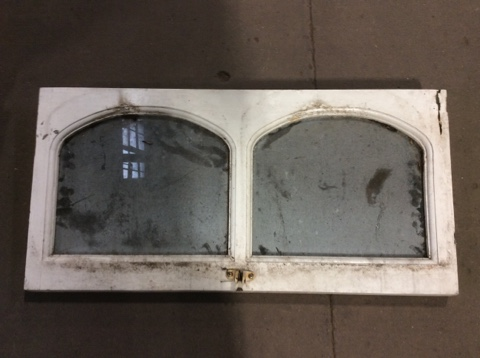 Phipps 2 Pane Arched Window