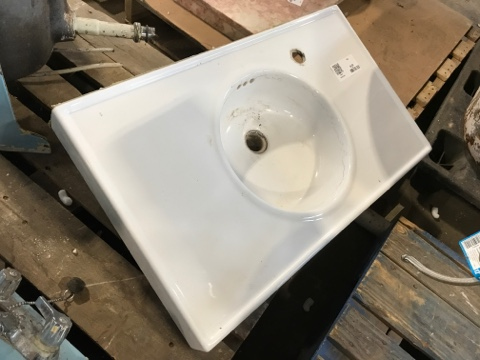 Rectangular Porcelain Vessel Sink Top