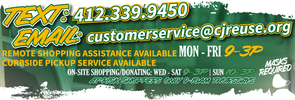 Click this banner for information on remote shopper assistance available.
