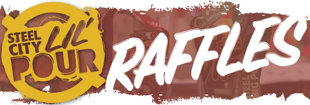 Logo banner for Steel City Lil' Pour Raffles