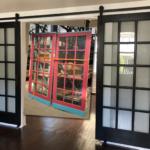 French Door to Barn Doors