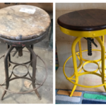 Industrial Stool Before/After