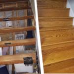 Oak Bookshelf StairTreads
