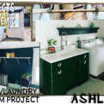 Sink/Laundry Room Project - Submitted by Ashley - An epic sink restoration completed this laundry room glow up.
