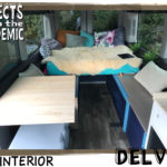 Van Interior - Submitted by Delvin - Living the van life with a van camper conversion.