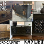 Restored Record Cabinet - Submitted by Kayleigh & Anthony - A cherished family relic gets a new look and inspires new hobbies.