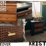 Night Stand Makeover - Submitted by Kristin - Sometimes the right find just needs some revamping.
