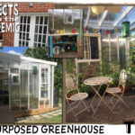 Repurposed Greenhouse - Submitted by Tim - Greenhouse built to cover a leaky door.
